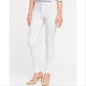 White Old Navy Skinny Jeans